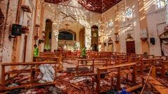 聖セバスチャン教会の内部の様子=ネゴンボ