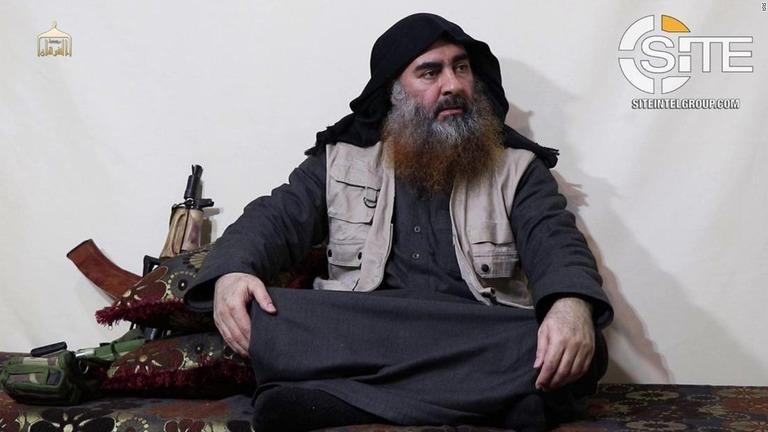 ISIS最高指導者アブバクル・バグダディ容疑者とされる動画が5年ぶりに公開された/ISIS
