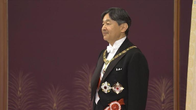 新天皇陛下が即位の儀式に臨んだ/POOL