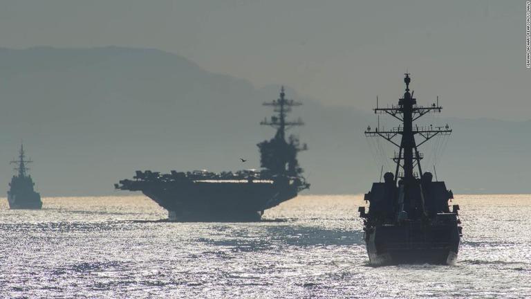 CNN.co.jp : 米軍、中東地域に空母打撃群など派遣 イラン情勢に対応