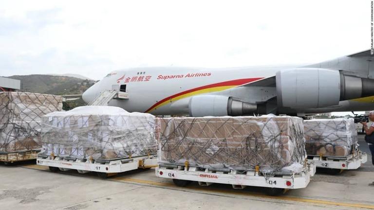 CNN.co.jp : ベネズエラに中国からの支援物資到着 医薬品や医療機具