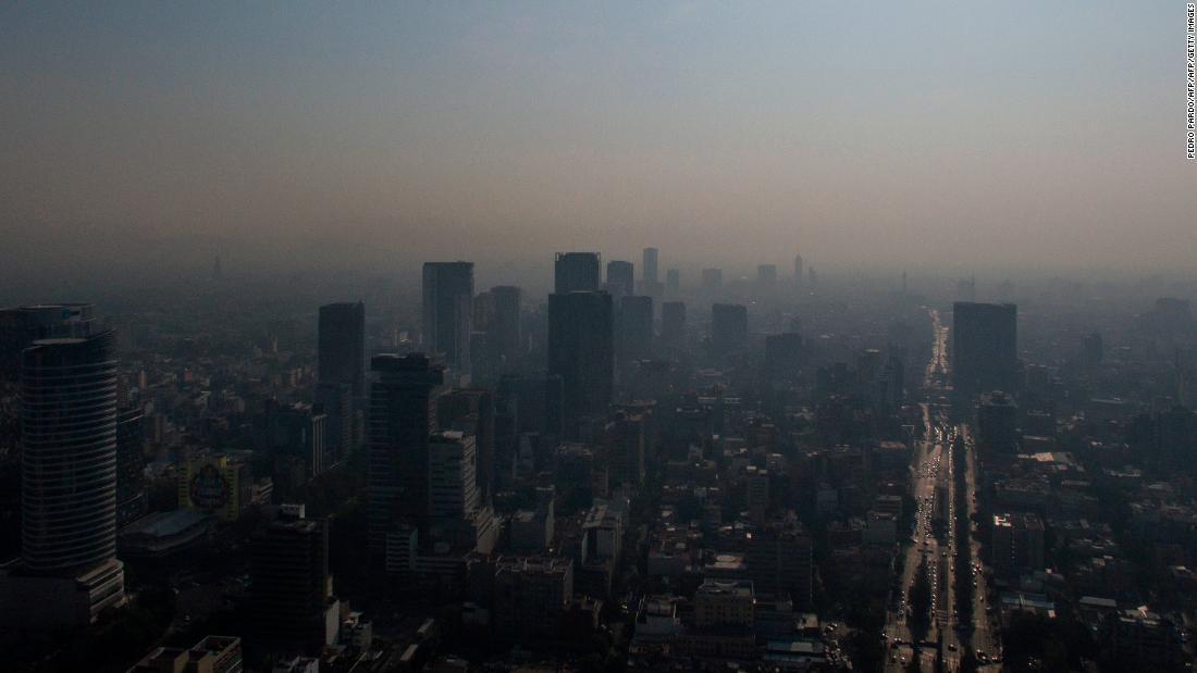 CNN.co.jp : メキシコ市で深刻な大気汚染 学校閉鎖し車自粛も要請