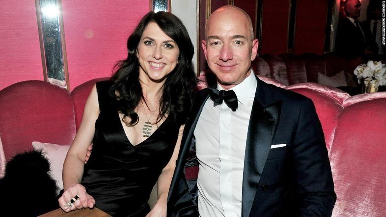 CNN.co.jp : アマゾン創業者と離婚の元妻、財産の半分を慈善事業に寄付へ