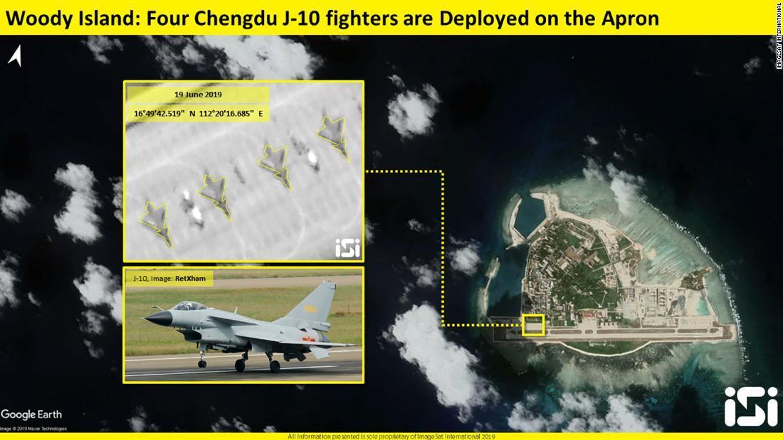 CNN.co.jp : 中国戦闘機、南シナ...