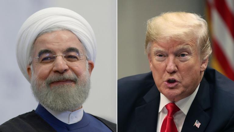 CNN.co.jp : トランプ氏、攻撃されたらイラン「壊滅」と警告