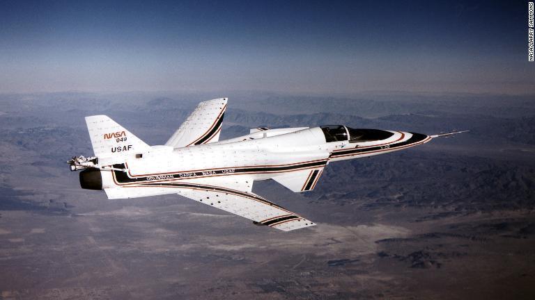写真特集:異形の戦闘機X29