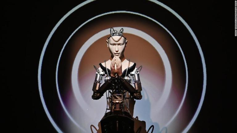 「アンドロイド観音」が登場、仏教に変革の風 高台寺