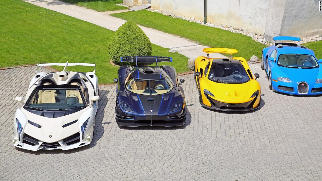 スーパーカー25台を競売、赤道ギニア副大統領から差し押さえ スイス