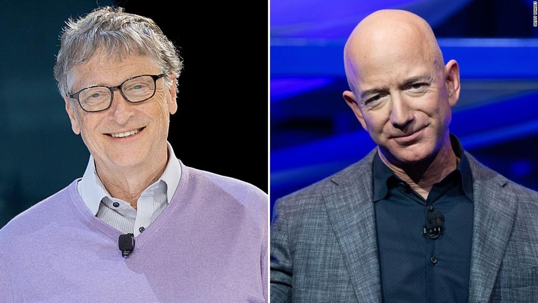 CNN.co.jp : ビル・ゲイツ氏、世界一の富豪に返り咲き アマゾンの ...