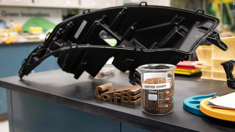 「コーヒーかす」で自動車部品を製造、フォードとマクドナルドが連携