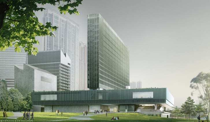 Courtesy of Herzog & de Meuron / West Kowloon Cultural District Authority