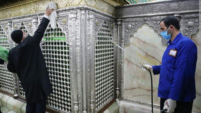 イラン コロナ ウィルス