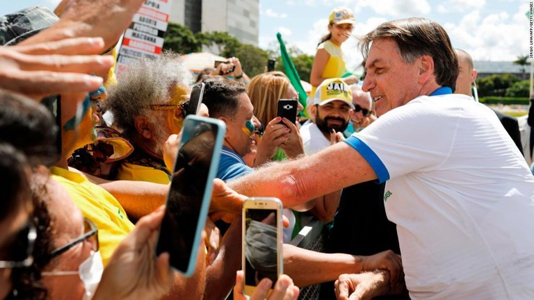 ブラジル 大統領 コロナ