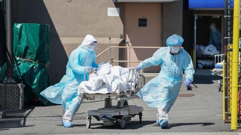 CNN.co.jp : 感染死亡者の人種別比率を公表、米ニューヨーク州