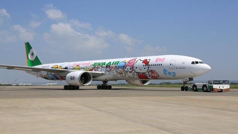 台湾のエバー航空は父の日の8日に代替旅行が楽しめるフライトを提供する/Courtesy Eva Air