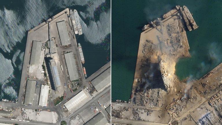 レバノン 爆発 事故