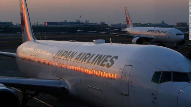 日本航空が乗客への呼び掛けで「レイディーズ・アンド・ジェントルメン」というフレーズの使用を取りやめる/James Matsumoto/SOPA Images/LightRocket/Getty Images