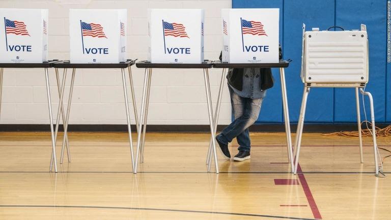 CNN.co.jp : 米国の選挙で必要な「有権者登録」とは? 制度や手続きを知る