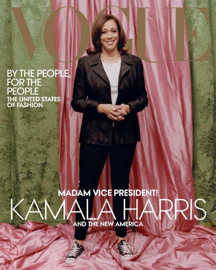 2021年2月号のヴォーグ誌の表紙/Credit: Tyler Mitchell/Vogue