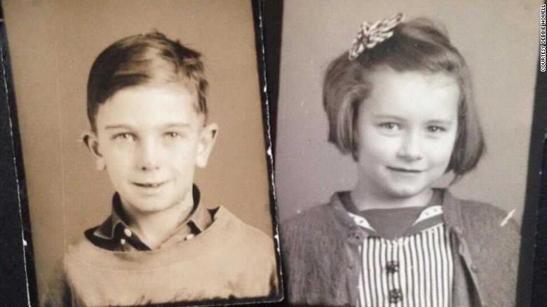 ディックさんとシャーリーさんの幼少期の写真/Courtesy Debbie Howell