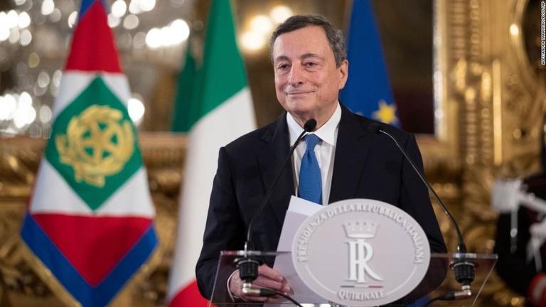 CNN.co.jp : イタリア新首相にマリオ・ドラギ前ECB総裁 閣僚人事を発表