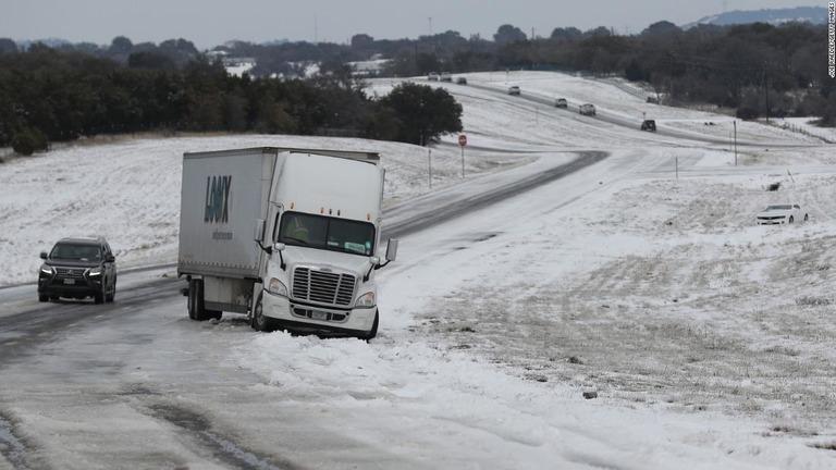 テキサス 寒波