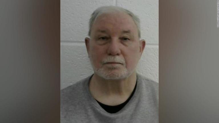 米メリーランド州警察署長だったデービッド・M・クロフォード容疑者(69)/Howard County Detention Center
