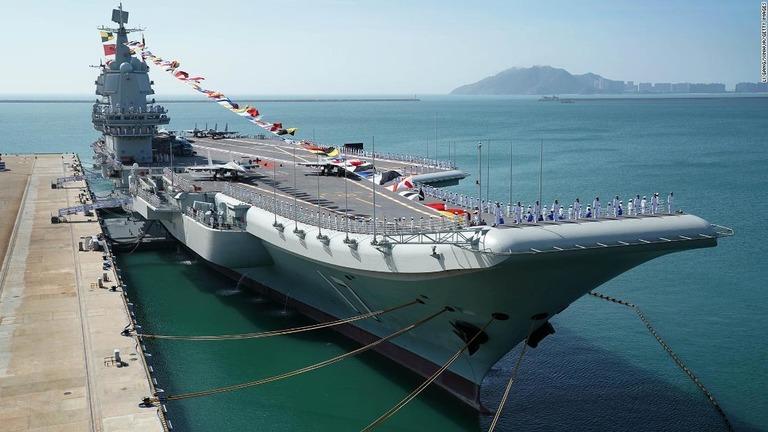 CNN.co.jp : 世界最大の海軍を建設した中国、今後の出方は<下> 近海 ...