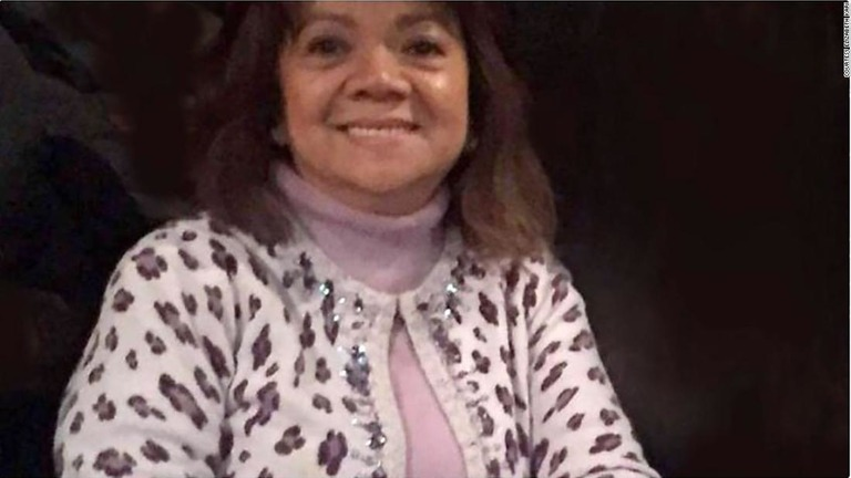 被害に遭ったビルマ・カリさん。資金調達サイトを通じて多くの寄付が寄せられている/Courtesy Elizabeth Kari