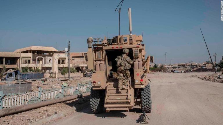 米国とイラクが、イラク駐留米軍の撤収などを盛り込んだ共同声明を発表した/Martyn Aim/Getty Images