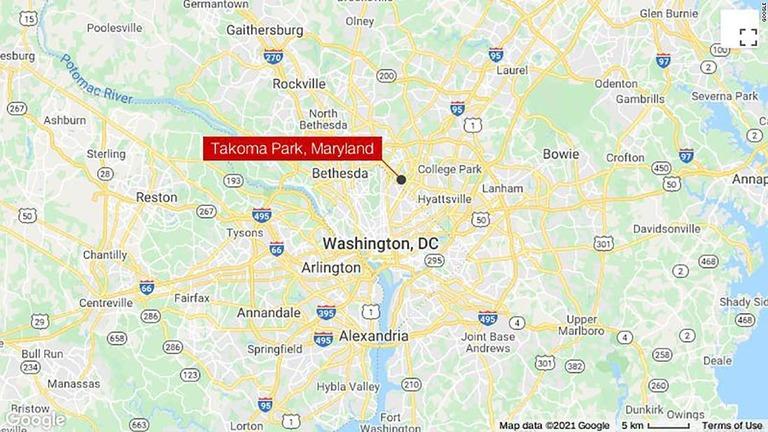 米メリーランド州タコマパークで、非番の警察官が車上荒らしと認識した2人を射殺した/Google