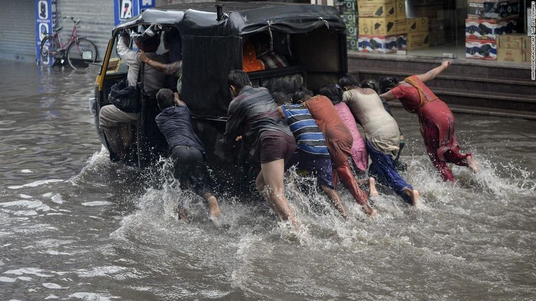 インドのモンスーン、降雨の変動が加速 10億超の人口に深刻な影響懸念