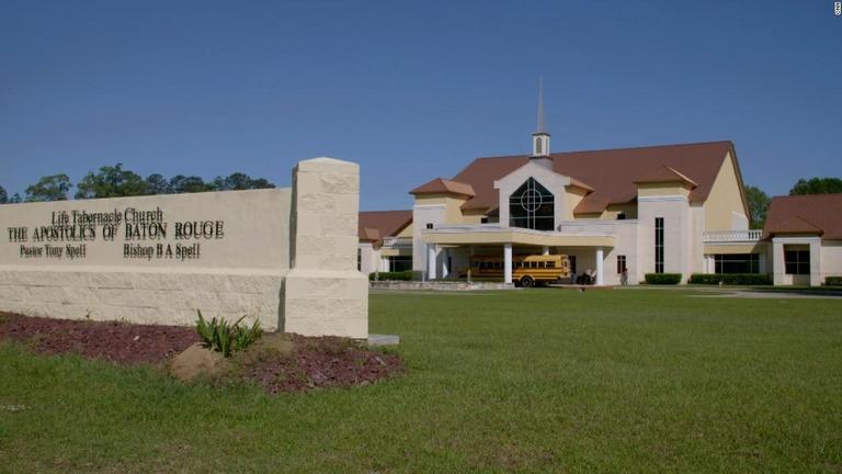 CNNが取材したキリスト教福音派の教会の外観/CNN