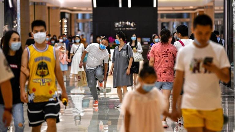 中国GDP、1~3月期は18.3%増 過去最高の伸び