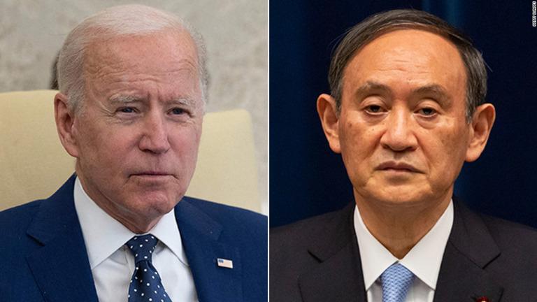 バイデン大統領、菅首相と会談へ 中国に「明確なシグナル」