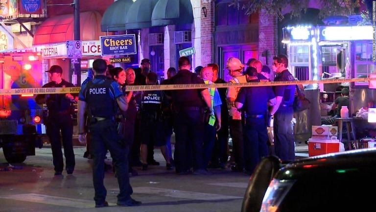 米テキサス州オースティンの中心街で銃乱射事件があった/Metro Video Services, LLC. -- Austin Division