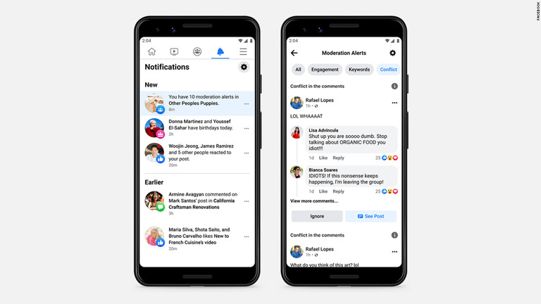 AIがグループ内のけんかを探知、フェイスブックが新機能をテスト中