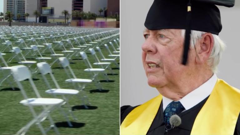 全米ライフル協会の元会長、デービッド・キーン氏が偽の卒業式スピーチのわなにはめられた/change the ref