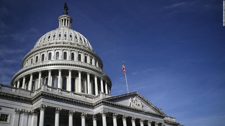 ワシントンを先週訪れたテキサス州下院の民主党議員団で計5人が新型コロナウイルスの検査で陽性判定を受けたことがわかった/Win McNamee/Getty Images