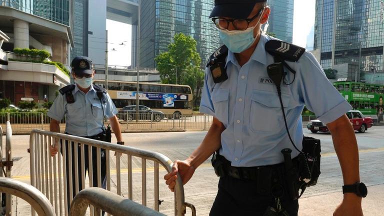 国家安全維持法適用の裁判、初の有罪判決 香港
