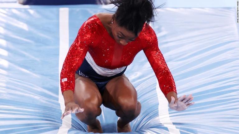 米体操女子バイルズが棄権、「心の健康」理由に