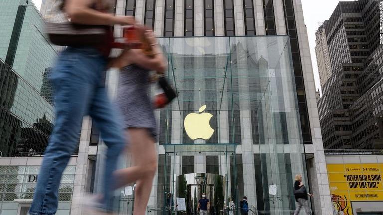 米アップル、4~6月期は売上高36%増 iPhone好調