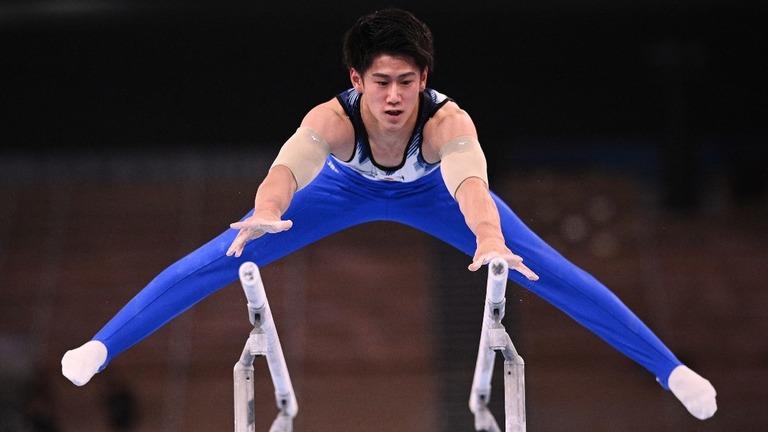 体操男子個人の橋本大輝、接戦制し金メダル 東京五輪