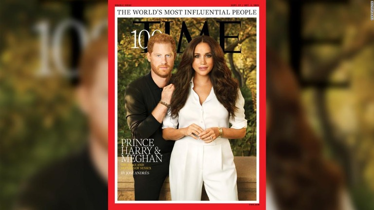 ヘンリー王子とメーガン妃、米誌の「世界で最も影響力のある100人」に選出