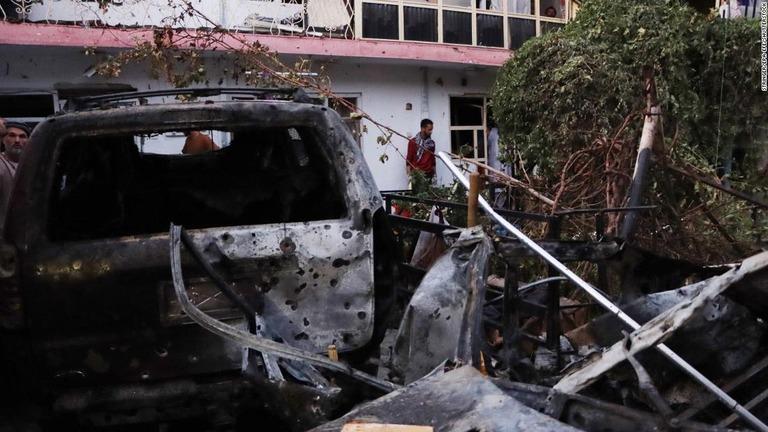米軍がカブール誤爆を認める 民間人10人死亡、誤った車両を攻撃